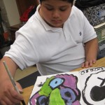 STRETCH and EXPLORE: How can we make abstract artwork using shapes, lines, and patterns?