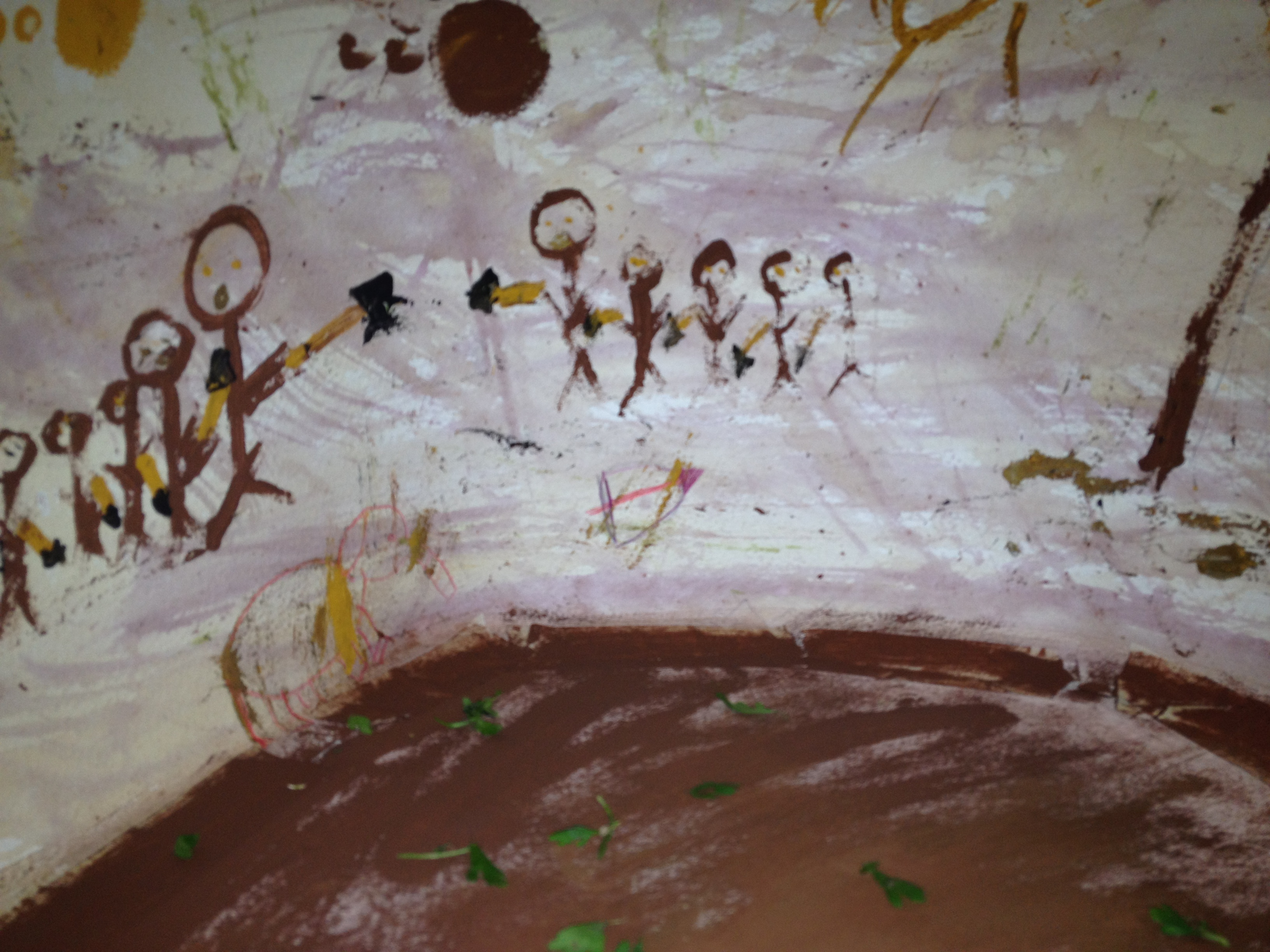 Cave Dwelling Artists At Marinwood Summer Camp Youth In