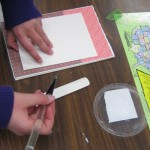 Book Making with fifth graders, with Mentor Artist Ascha Drake