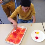Painting texture for the Sun Column project.