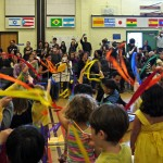 """Ms. Haltiner's class dances and sings """"Flying Man"""""""