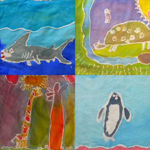 See art from Willow Creek Academy students