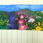 panoramic view of completed mural