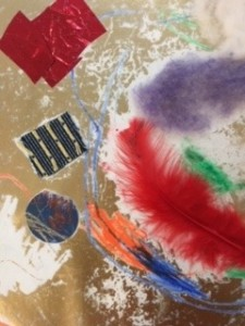Composing with feathers