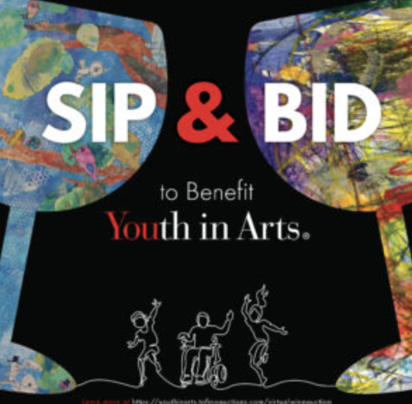 Join Us Friday for Sip & Bid!